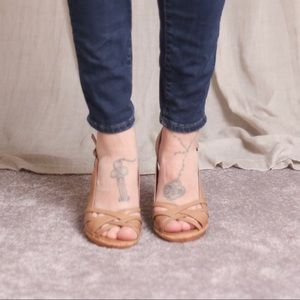 Aldo Woven Strappy Slingback Heeled Sandal